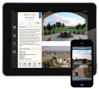 8z Real Estate HomeSpotter on iPhone and iPad